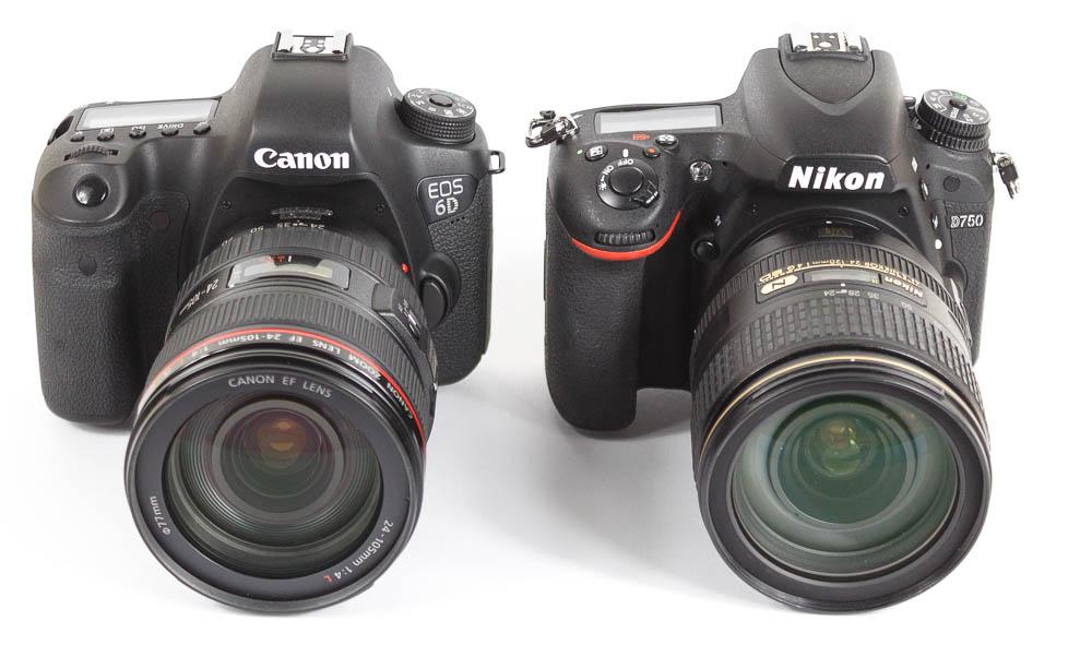 Nikon D750 vs. Canon EOS 6D Vergleich, Rauschen und Dynamik ...
