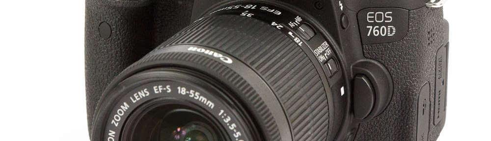 Canon EOS 760D Test Gehäuse Body