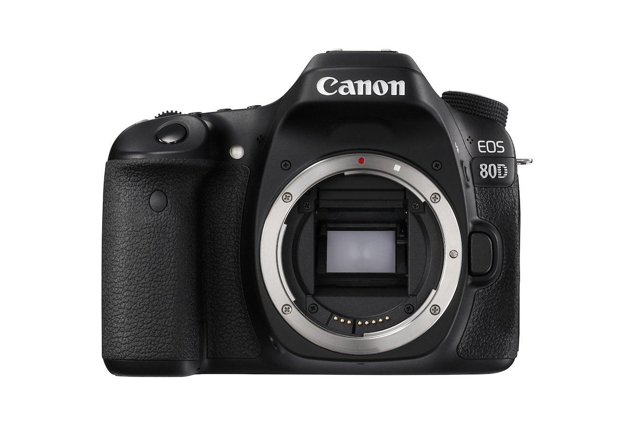 EOS 80D No Lens FRT