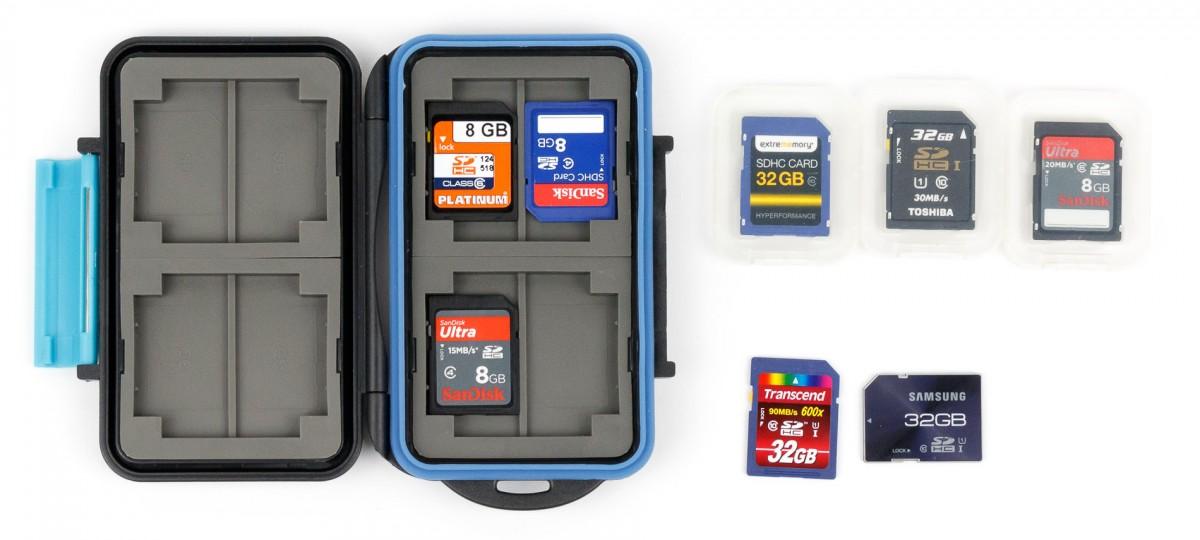 SD-SDHC-Karten Tasche Hülle