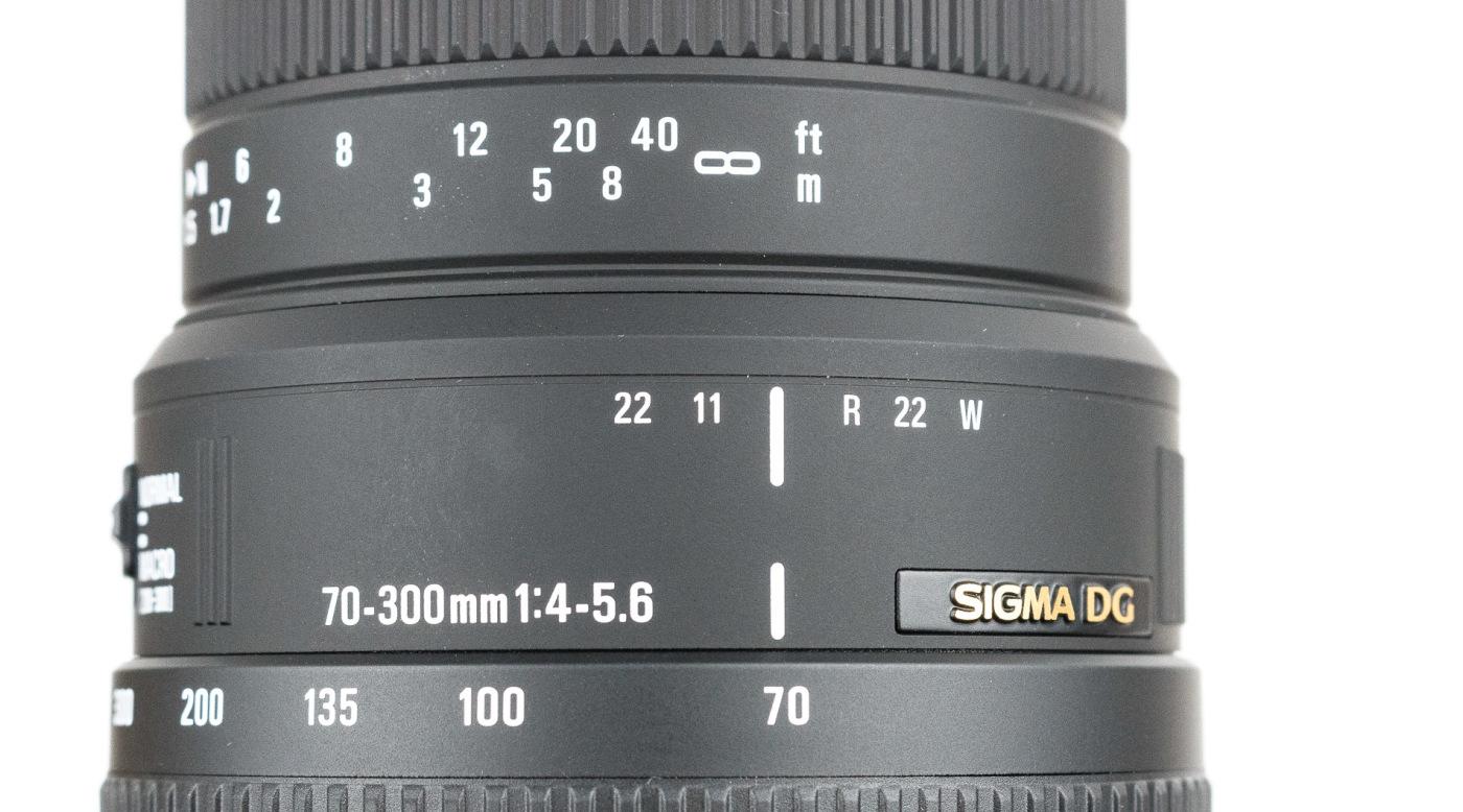 Sigma 70-300mm