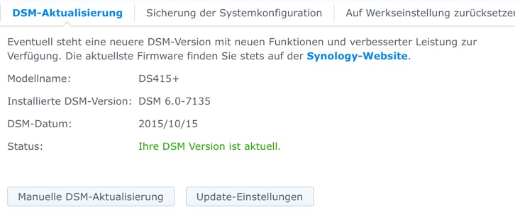 Synology DiskStation - DS415