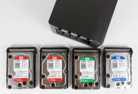 WD Red, WD Green, WD Blue NAS